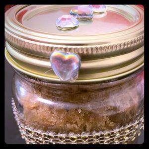 Homemade Almond Body Sugar Scrub